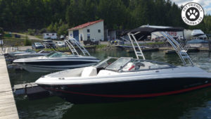 Boat rental Shuswap lake