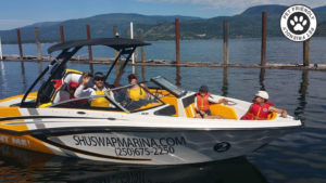 Boat rental Shuswap lake